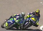 10. april 2005 Spain - Valentino Rossi vs Sete Gibernau - ca. 3,80 MB uden lyd